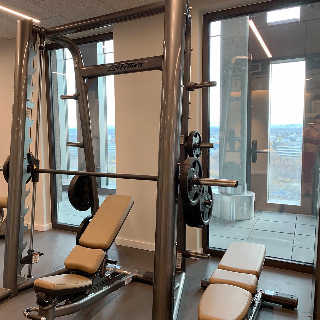 Hyperion Hotel München Fitnessraum